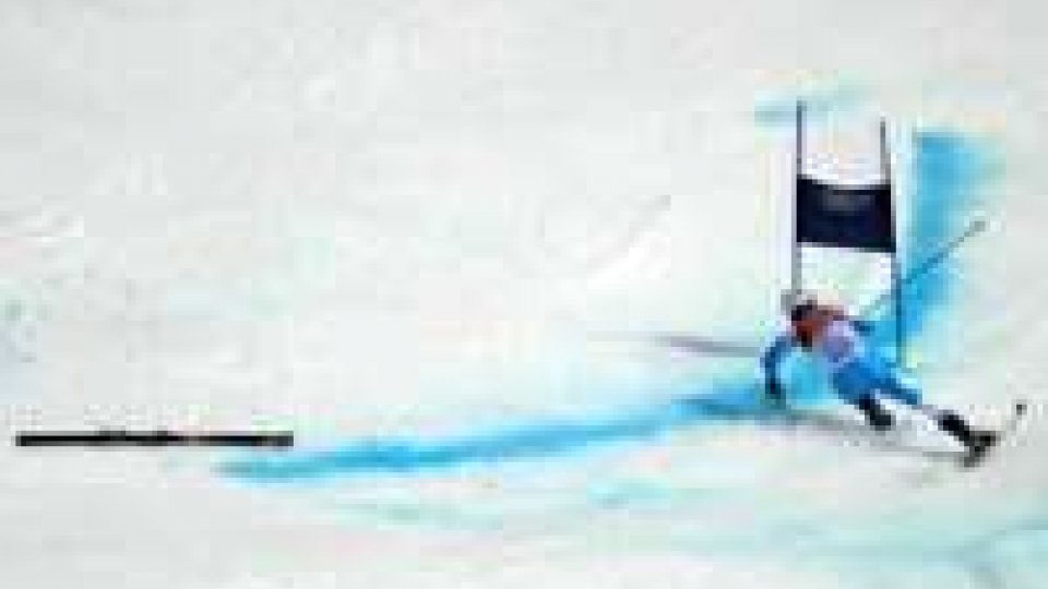 Sochi, la sfortunata discesa di Vincenzo MichelottiSochi, la sfortunata discesa di Vincenzo Michelotti.
