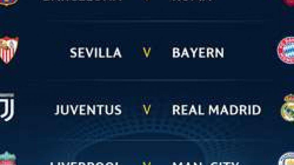 Champions League: a Nyon i sorteggiChampions: sorteggio durissimo per le italiane ai quarti