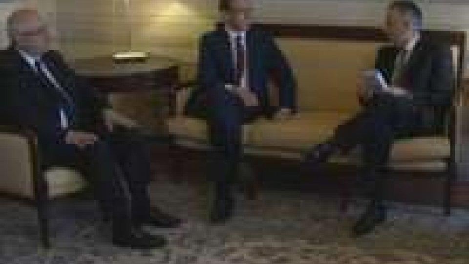 Nato: Valentini incontra Luciolli, presidente dell'Atlantic Treaty AssociationNato: Valentini incontra Luciolli, presidente dell'Atlantic Treaty Association