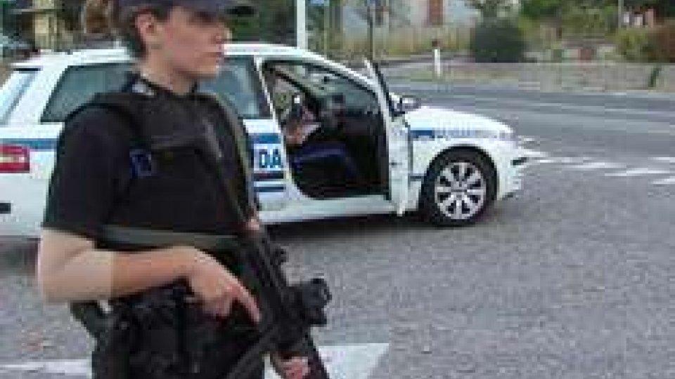 Controlli della Gendarmeria alla Cerbaiola