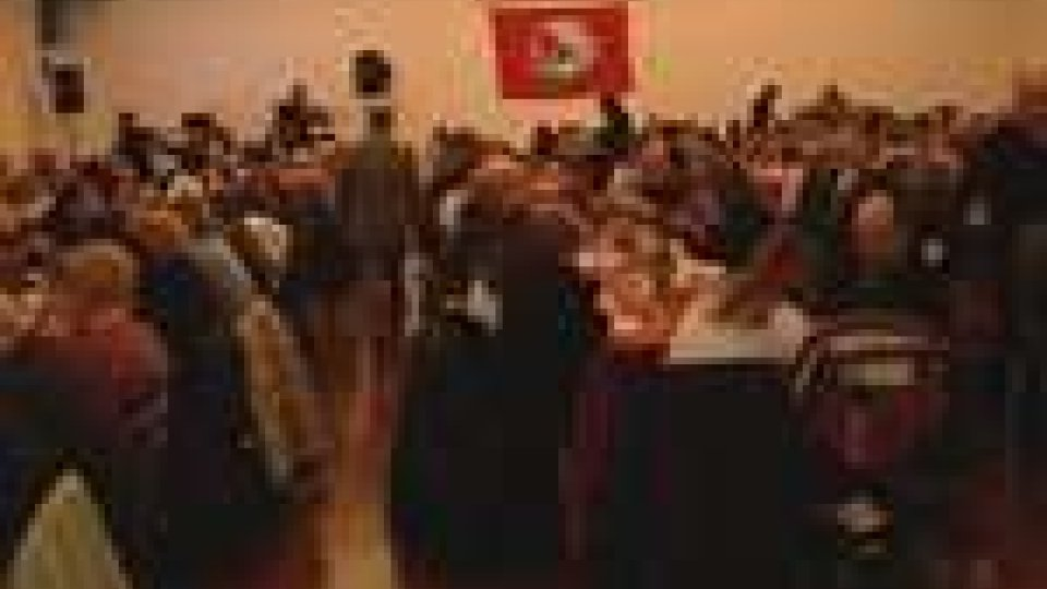 San Marino - Al Multieventi Sport Domus la festa di tesseramento del Psrs