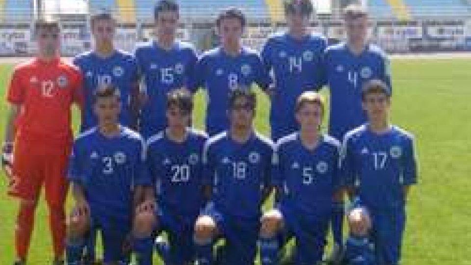 Torneo di sviluppo Uefa Under 16: San Marino - Cipro 1-1