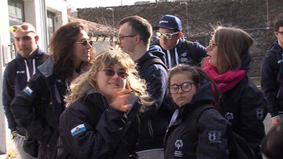 Special OlympicsMondiali Special Olympics: San Marino in viaggio, Italia da Conte