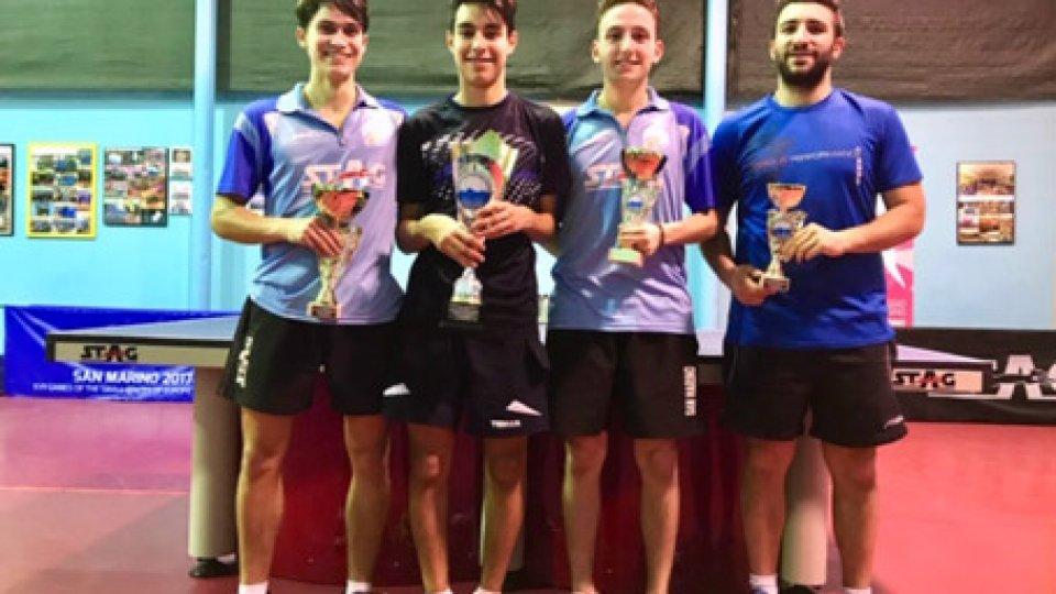 Tennistavolo: nei nazionali trionfano Chiara Morri e Mattias Mongiusti