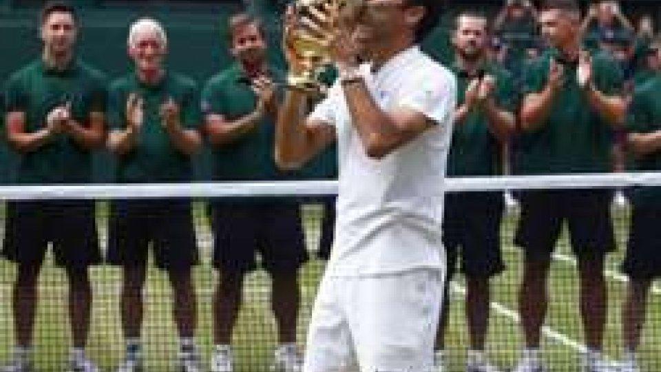 Tennis, Wimbledon: Federer vince per l'ottava volta