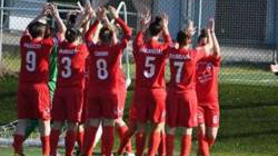 Campionato femminile serie B: New Team Ferrara - Fed. Sammarinese 0-5