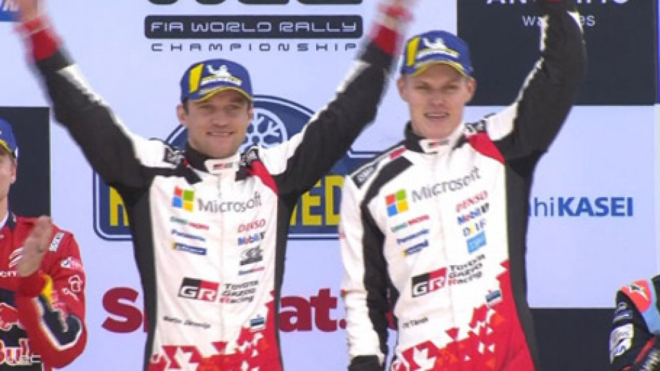 WRC: in Svezia trionfa TanakWRC: in Svezia trionfa Tanak