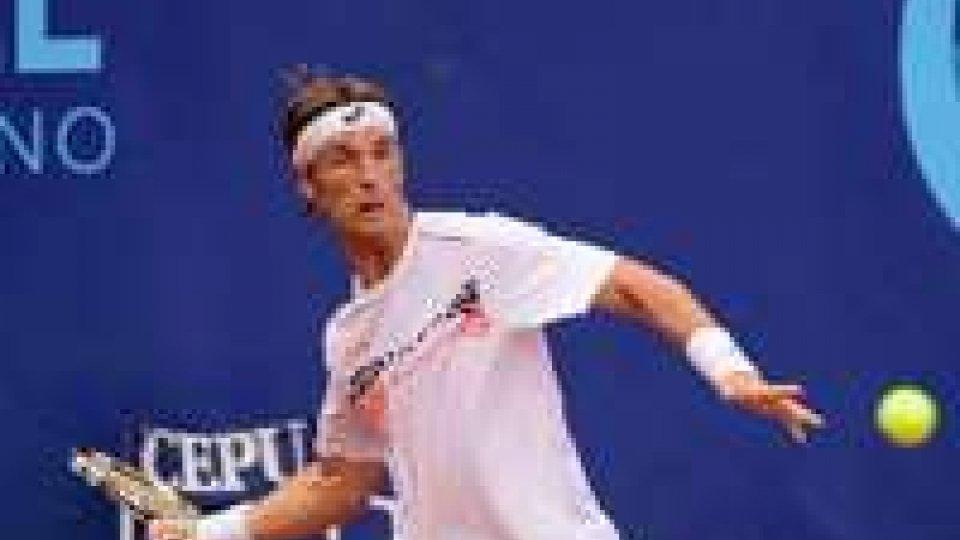 San Marino Open di tennis: gli italiani tutti sconfitti