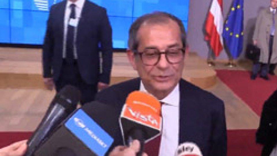 Giovanni TriaTria all'Ecofin: con Europa qualche disaccordo