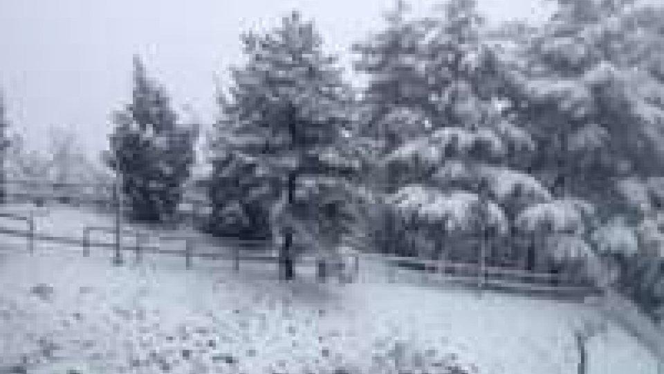 Maltempo: neve a San Marino e in Romagna senza disagi
