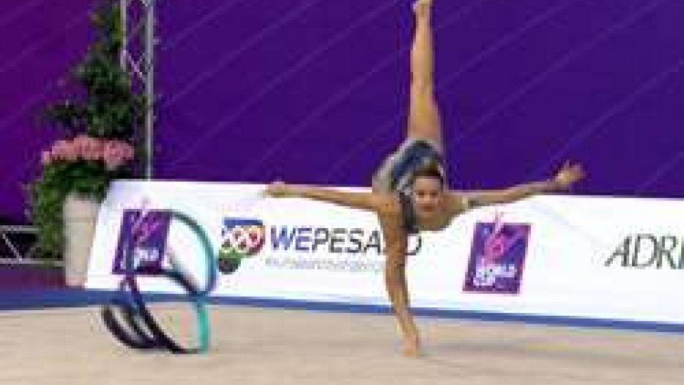 Lucia CastiglioniLucia Castiglioni in pedana alla Coppa del Mondo di Pesaro