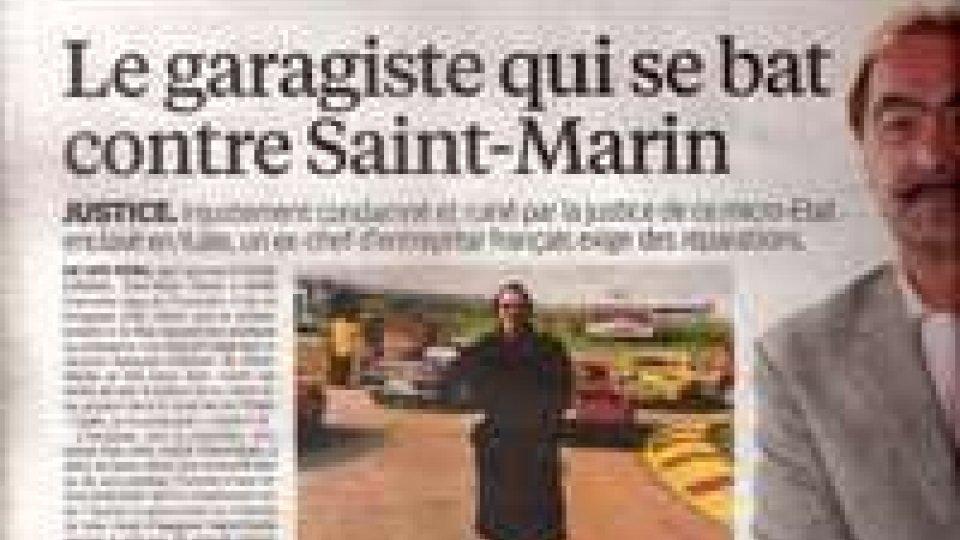 """Caso Tierce: """"Le Parisien""""rettifica le considerazioni negative su San Marino"""