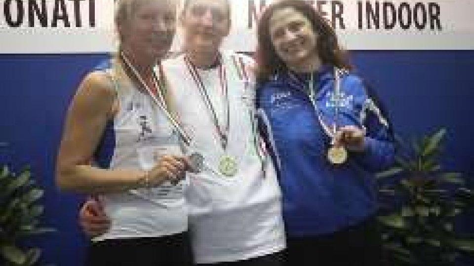 Paola Carinato d'argento ai Campionati Italiani Indoor Master