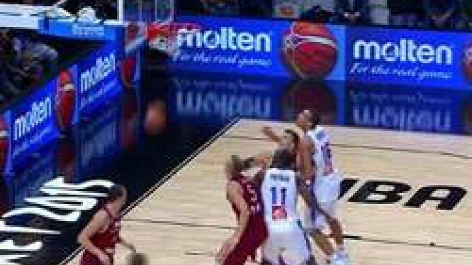 Basket, Francia-Spagna la prima Eurosemifinale: Lettonia e Grecia koBasket, Francia-Spagna la prima Eurosemifinale: Lettonia e Grecia ko