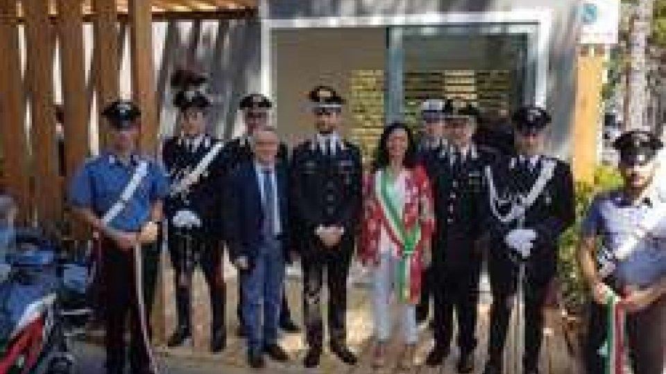 Riccione: Carabinieri, inaugurato un ulteriore presidio nel cuore della città