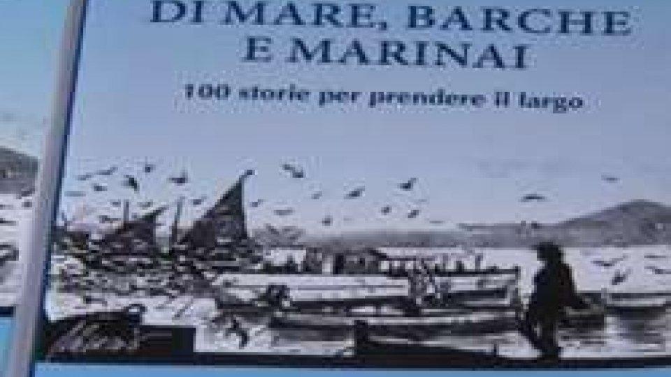 """La copertina del libro""""Di mare, barche e marinai"""" del Dg Romeo alla rassegna """"Salsedine"""""""