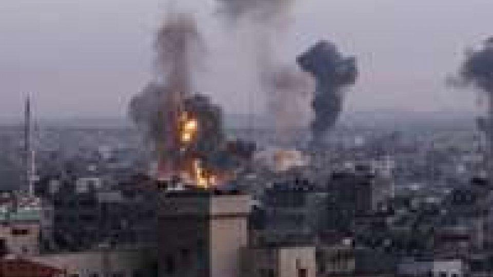 Raid israeliani su Gaza