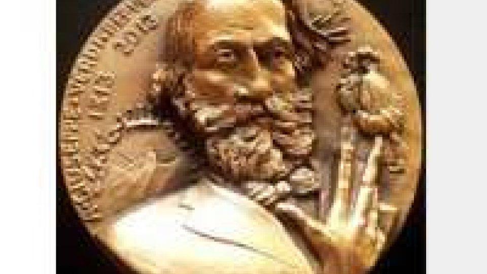 """Medaglia in rame """"200° Anniversario della nascita di Giuseppe Verdi"""""""