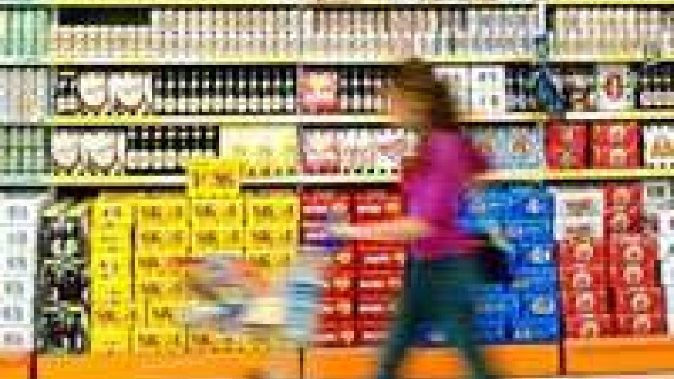 Flessione dei consumi nel 2012