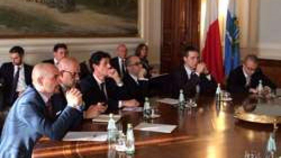 A Palazzo Begni incontro bilaterale San Marino-Malta