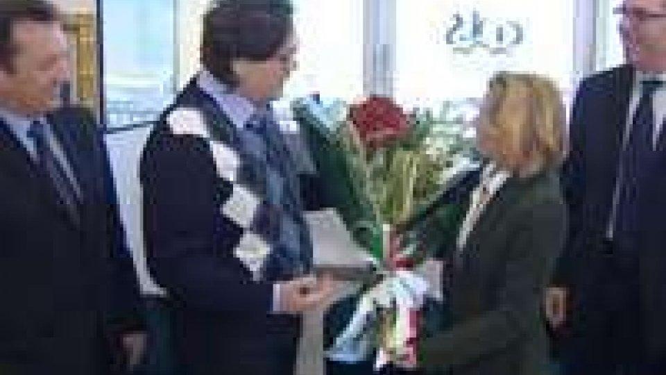 L'Ambasciatore d'Italia Bregato in visita di cortesia alla Csu