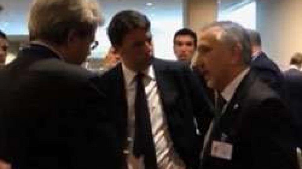 New York, Valentini incontra gli omologhi europeiNew York: Valentini incontra Renzi. A breve appuntamento a Roma
