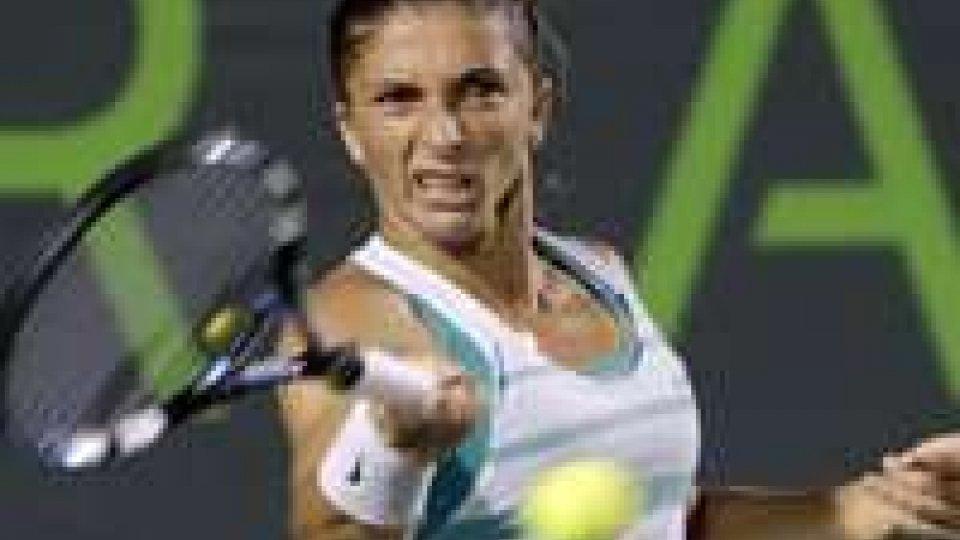 Tennis: dopo Seppi fuori anche Errani e Vinci a Miami