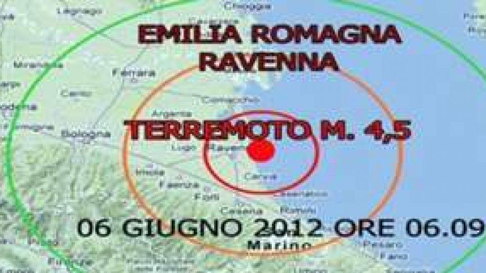 Il terremoto arriva anche a Ravenna. Magnitudo 4.5. Avvertito anche a Rimini e San Marino