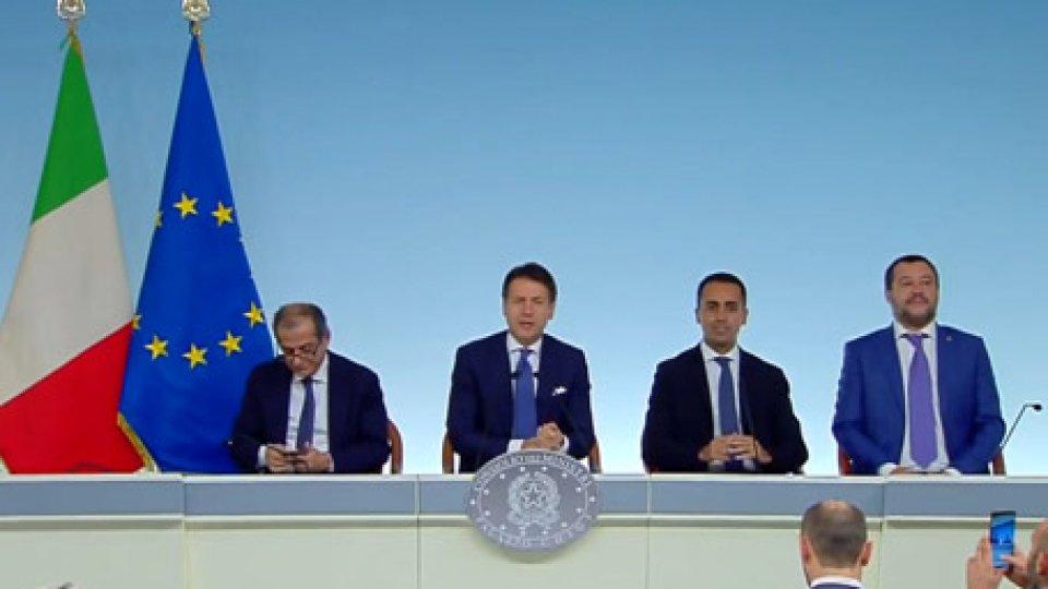 """Governo italianoSlittano reddito di cittadinanza e quota 100, Conte: """"Perché vogliamo farli bene"""""""