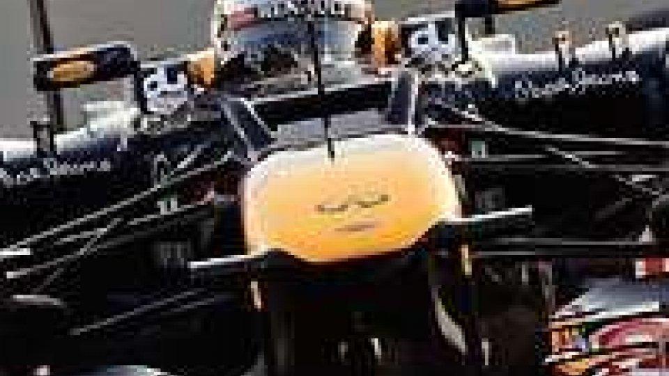 Sebastian Vettel vola nelle libere del GP di Abu Dhabi