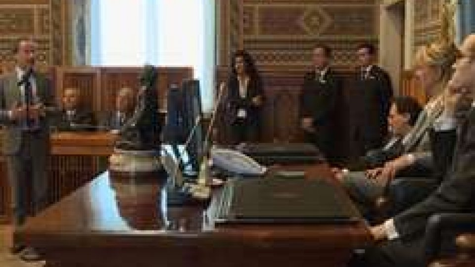 San Marino: in udienza dalla Reggenza l'astronauta Maurizio CheliSan Marino: in udienza dalla Reggenza l'astronauta Maurizio Cheli
