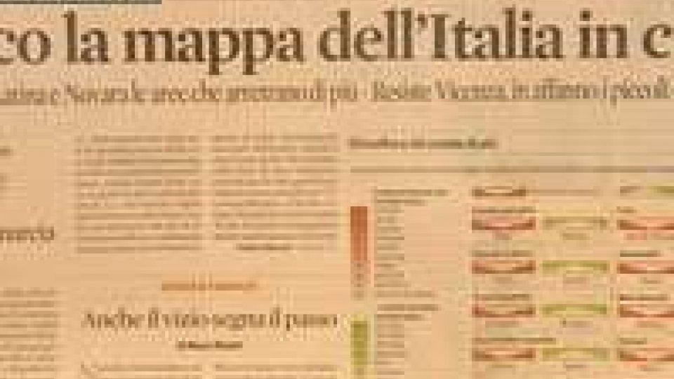 Mappa della crisi: Rimini al 15esimo posto in Italia