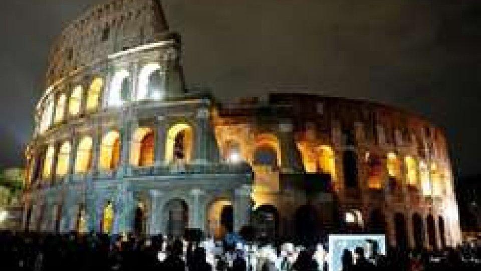 Il Colosseo di RomaEarth Hour: un'ora di buio per un futuro sostenibile