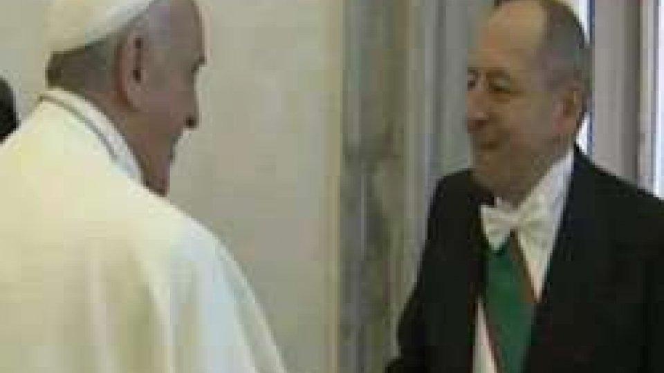 Galassi lascia l'incarico alla Santa Sede