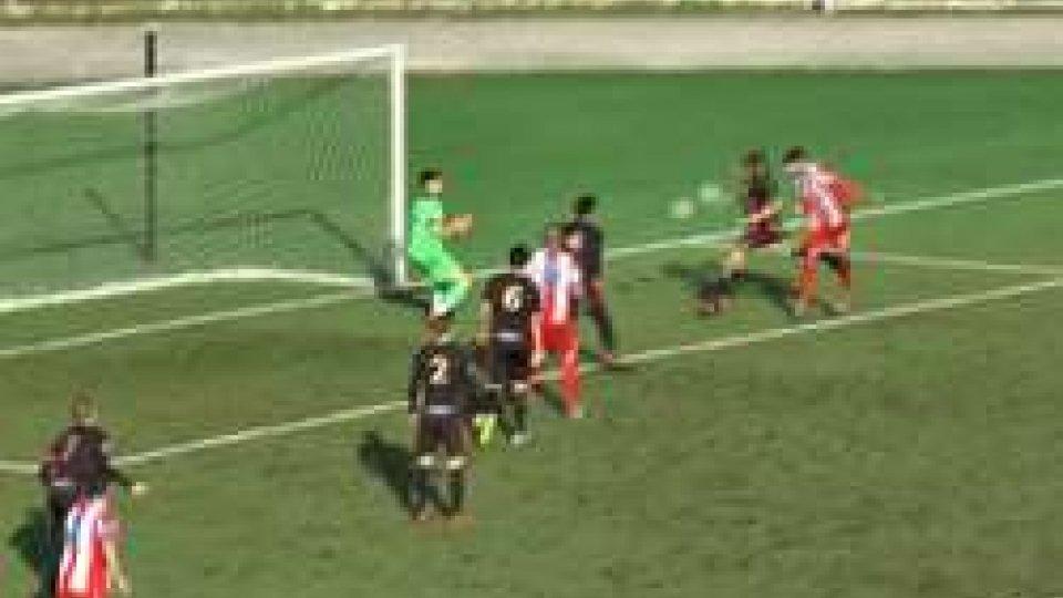Il gol della Vis PesaroSerie D Girone F: la Vis riapre il campionato facendo suo lo scontro diretto con il Matelica