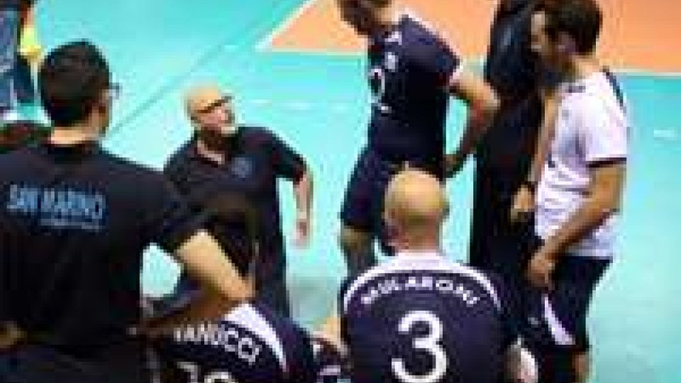 Volley: San Marino-Lussemburgo 3-2Volley: San Marino-Lussemburgo 3-2
