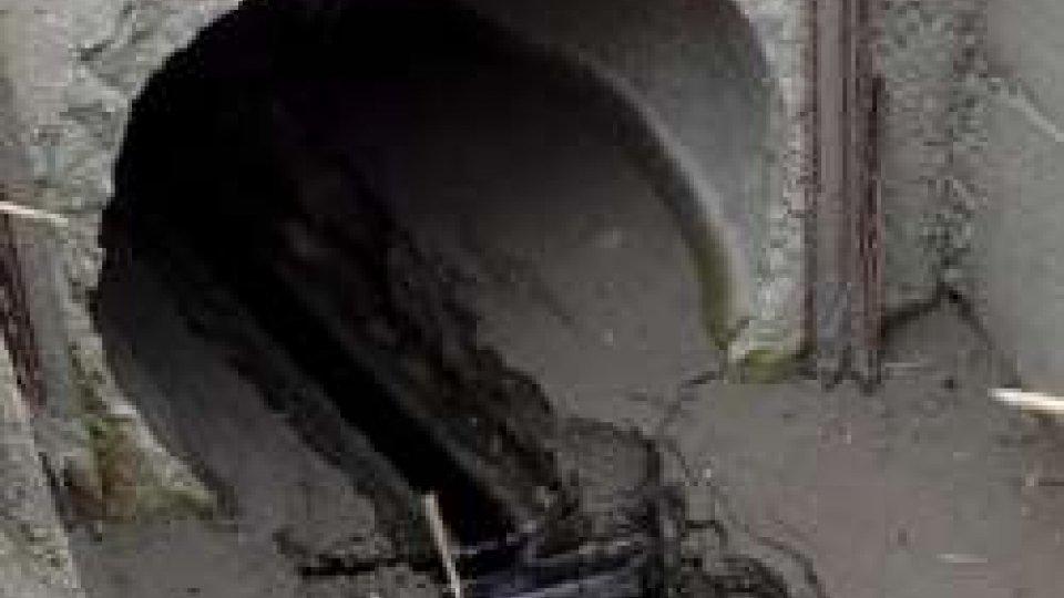 Versamento oleoso nel torrente Uso a San Vito