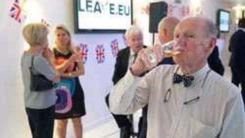 i festeggiamenti dei Leave