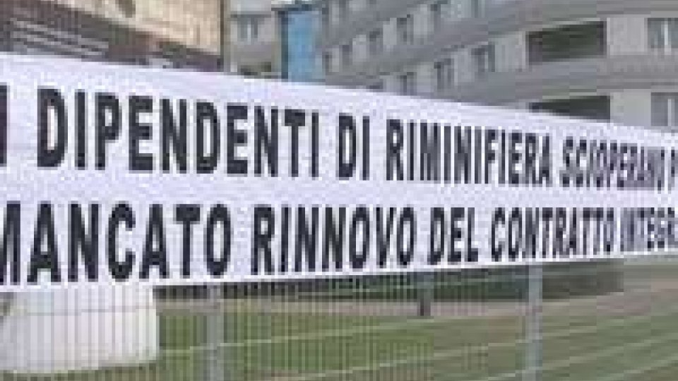 Scioperano i dipendenti della Fiera di Rimini
