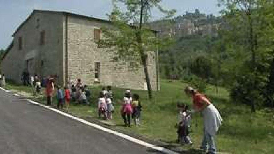 San Marino - I bimbi dell'asilo di Murata alla scoperta dell'ambiente