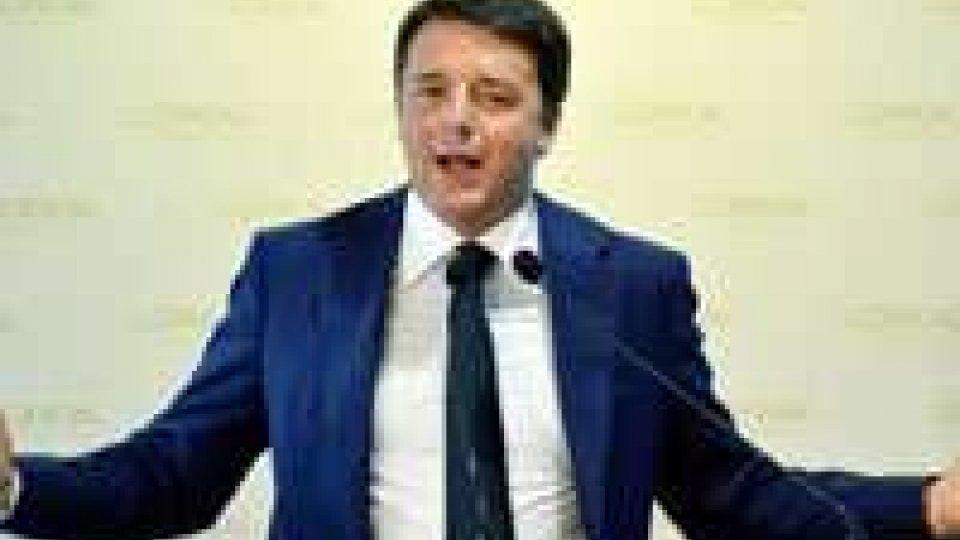"""Renzi: """"Vorrei il Tfr in busta paga dal 2015"""""""