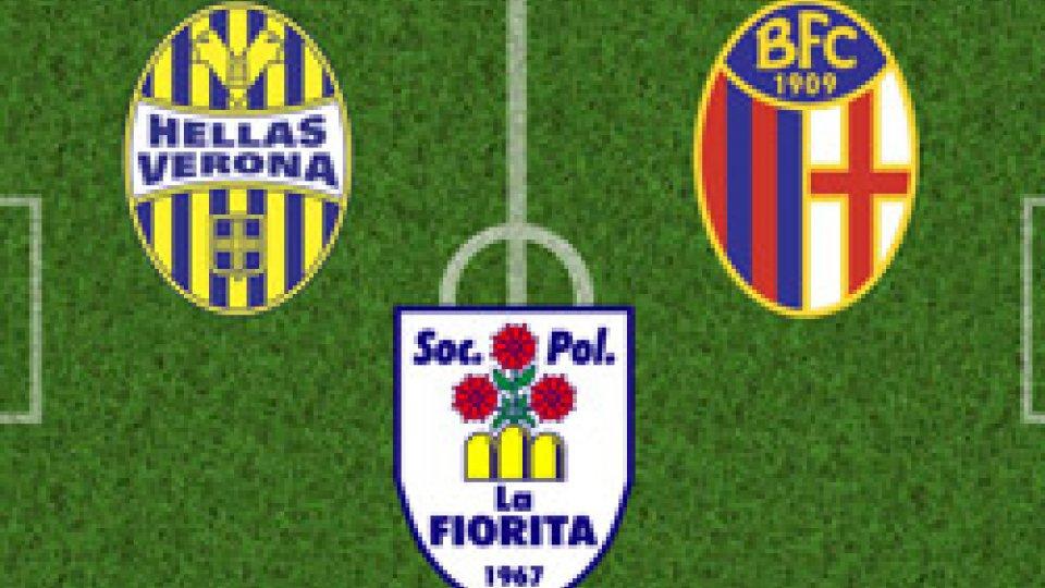 Verona e Bologna sfidano i campioni di San Marino