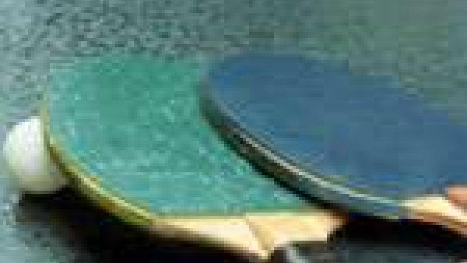 San Marino - Tennis tavolo, due vittorie e una sconfitta per la Juvenes