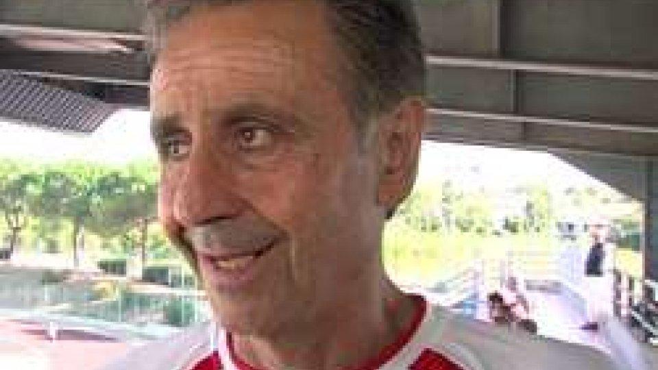 Oscar Farneti, allenatore SavignaneseUna bella Savignanese cede 2-0 al San Marino