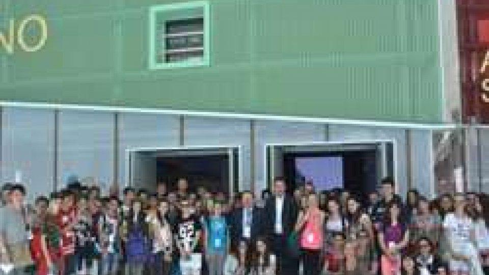 Expo: Lonfernini in visita al padiglione sammarinese