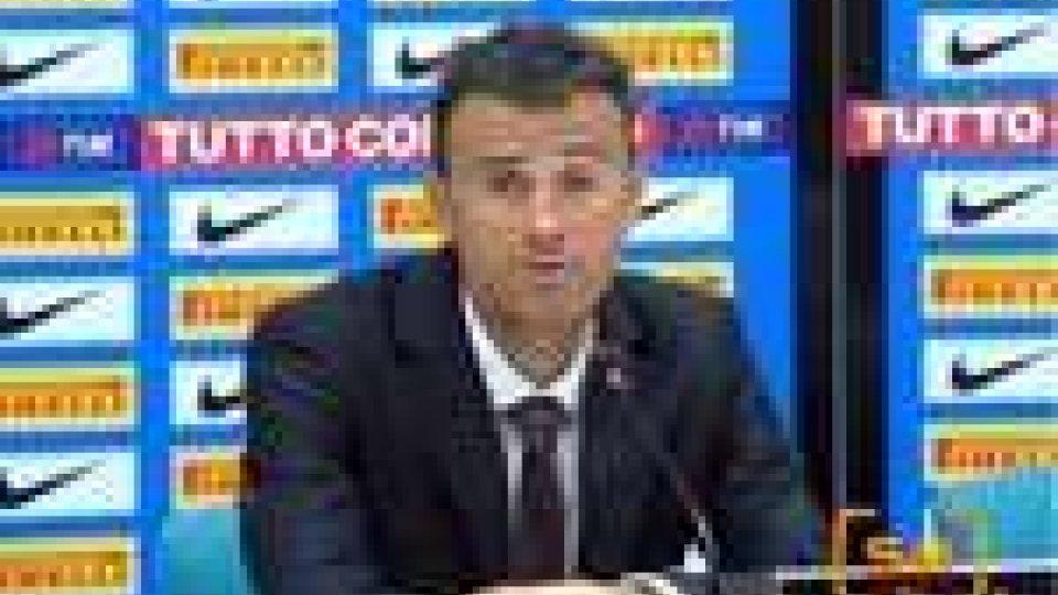 """Serie A. Luis Enrique sulla Roma: """"Mi è piaciuta la voglia di vincere della squadra"""""""