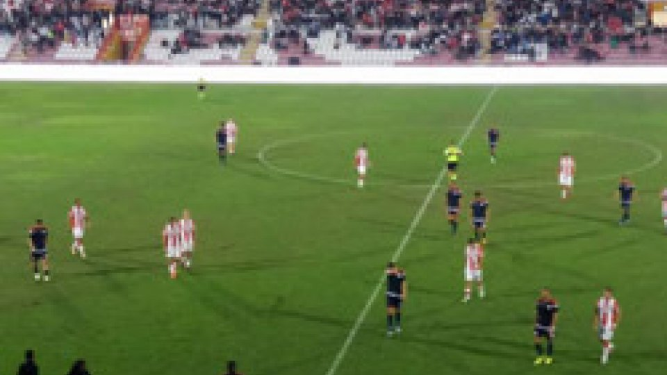 Rimini-Vicenza. Foto @riminifootballclubSerie C Girone B: Rimini beffato a Vicenza. Un punto per l'imolese in casa. Crolla il Ravenna
