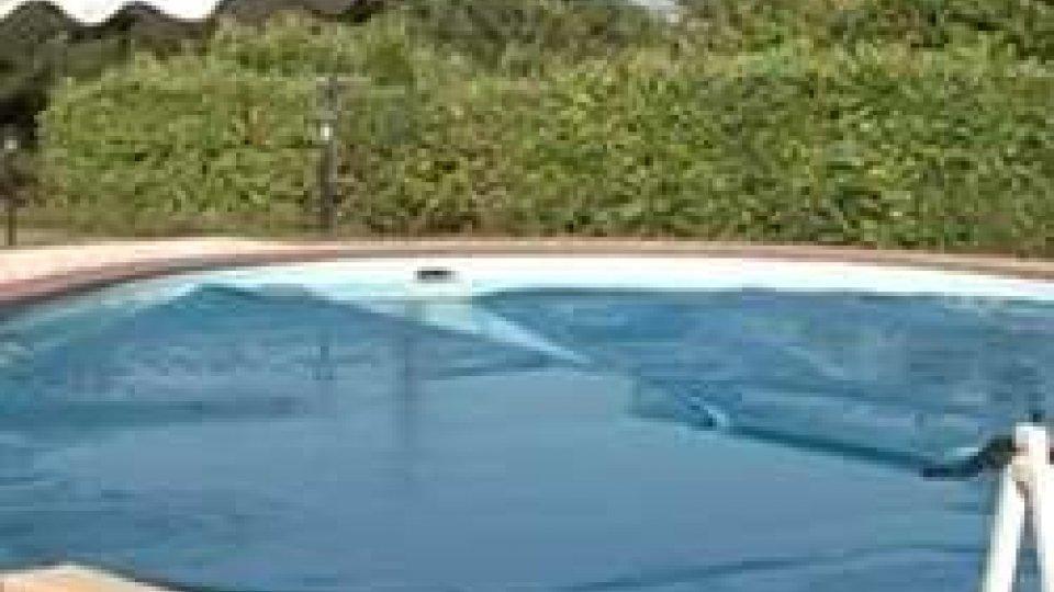 la piscina dove morì Righi