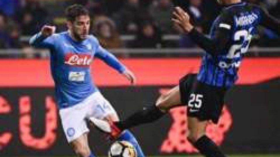 ph @sportmediasetInter-Napoli a reti inviolate, la Juve torna in testa