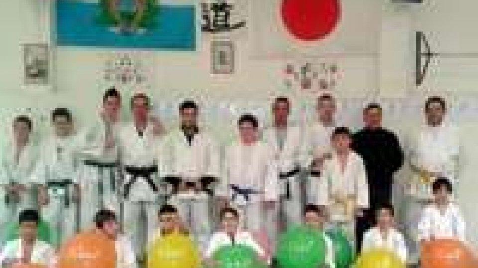 """Un """"piccolo"""" contributo all'AGEOP dal Judo Club San Marino"""